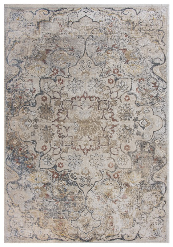 Rizzy Home  Bristol Transitional Beige Rug Brs102