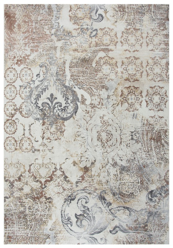 Rizzy Home  Bristol Transitional Beige Rug Brs112