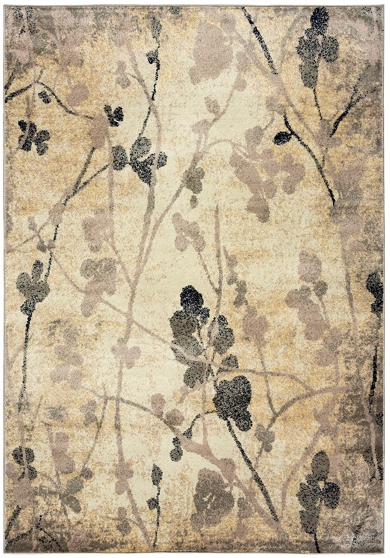 Rizzy Bay Side Bs4007 Ivory/yellow Rug