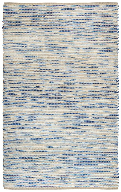 Rizzy Home  Cavender Casual Blue Rug Cav101