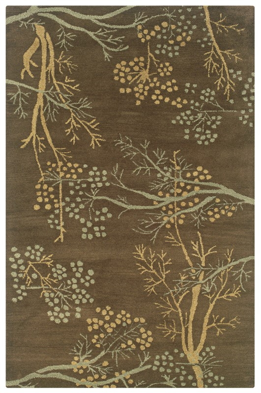 Rizzy Craft Cf0812 Brown Rug
