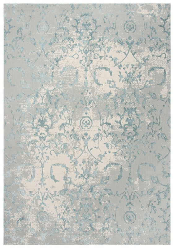 Rizzy Home  Chelsea Transitional Gray-blue Rug Chs103
