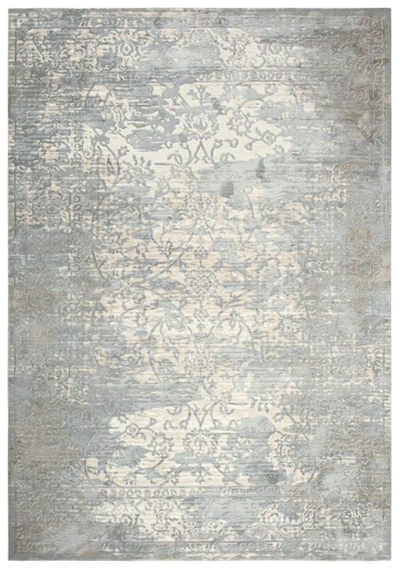 Rizzy Home  Chelsea Transitional Gray-cream Rug Chs104
