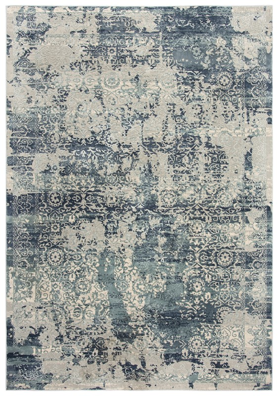 Rizzy Home  Chelsea Modern Gray-teal Rug Chs107