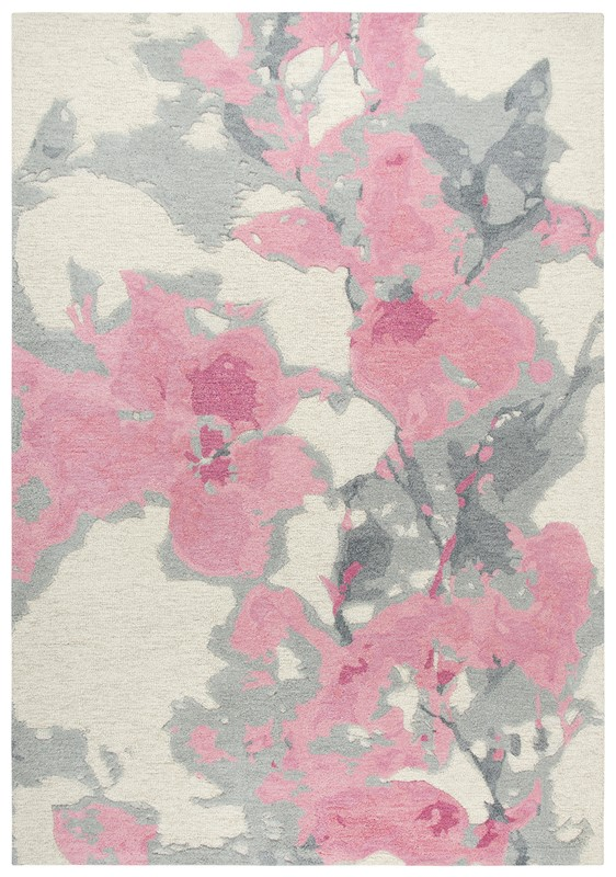 Rizzy Home  Connie Post  Modern Beige-pink Rug Cnp108