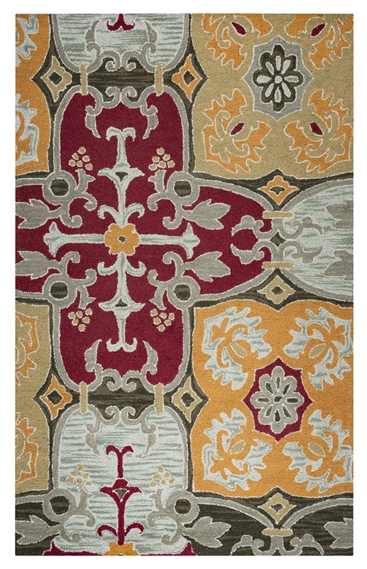 Rizzy Country Ct1015 Multi Rug