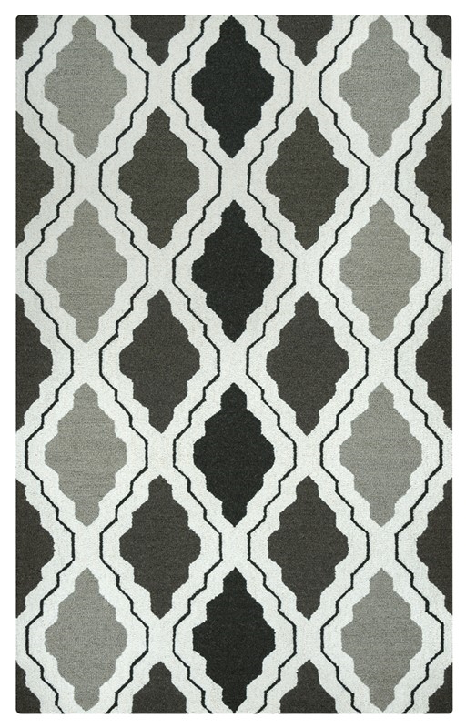 Rizzy Country Ct2594 Gray Rug