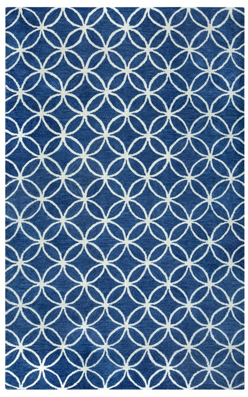 Rizzy Home  Opus Transitional Blue Rug Op8120