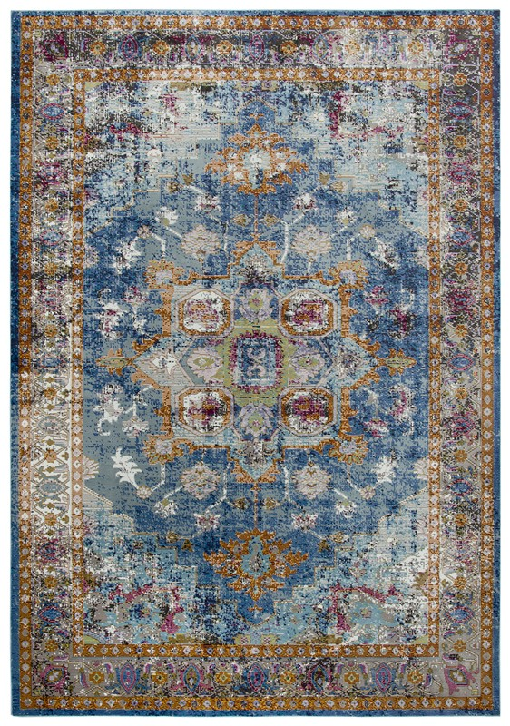 Rizzy Home  Princeton Traditional Blue Rug Pri102