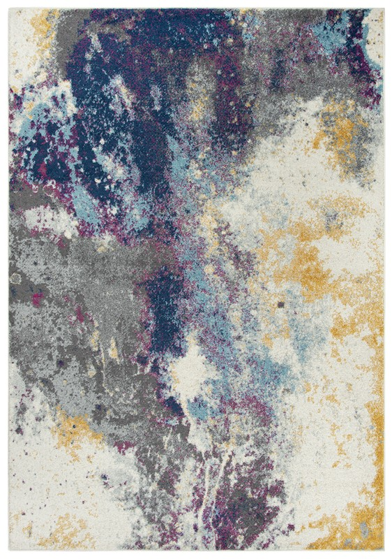 Rizzy Home  Rothport Modern Navy Rug Rtp104