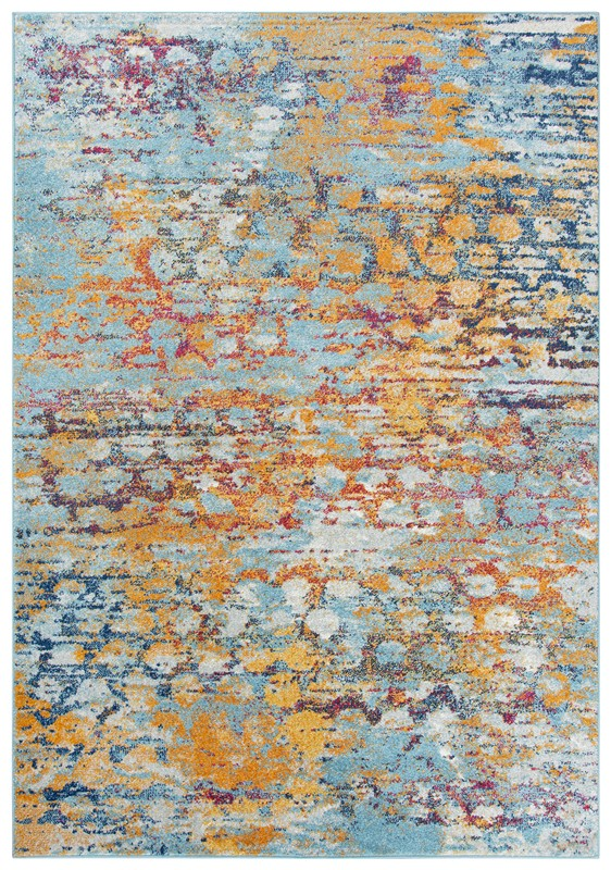 Rizzy Home  Rothport Modern Turquoise Rug Rtp108