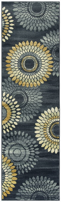 Rizzy Sorrento So4269 Gray/charcoal Rug