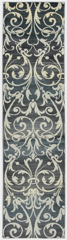 Rizzy Sorrento So4322 Gray/charcoal Rug