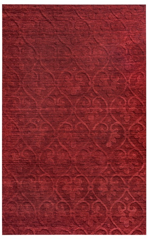 Rizzy Technique Tc8268 Burgundy Rug