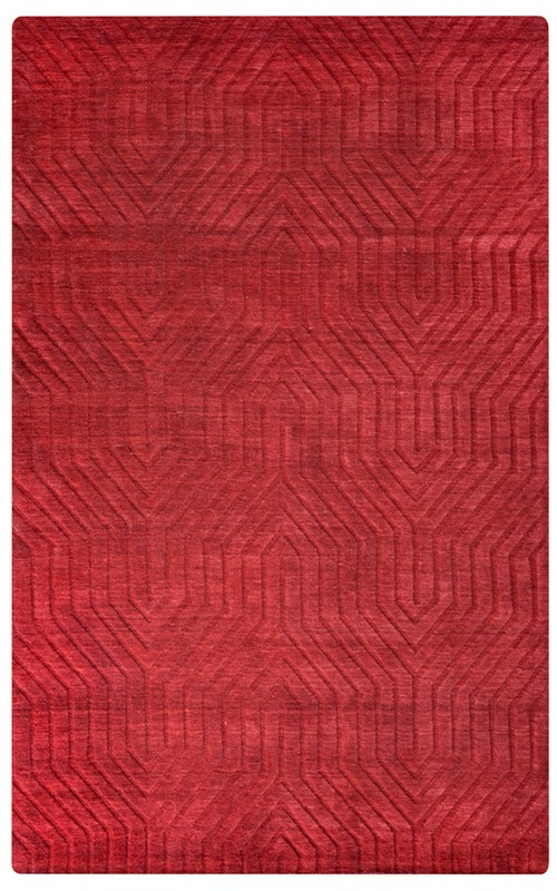 Rizzy Technique Tc8575 Red Rug