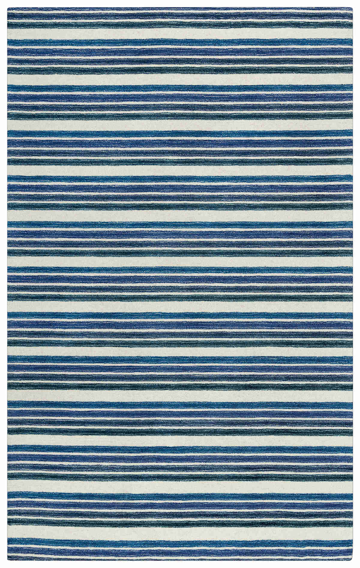 Rizzy Home  Tetra Transtional Blue Rug Tet106
