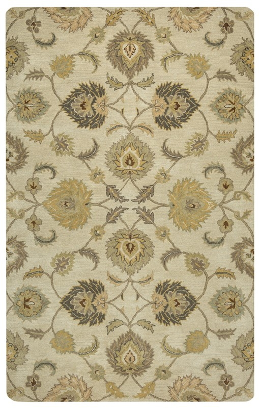 Rizzy Home  Valintino Transitional Tan Rug Vn9449