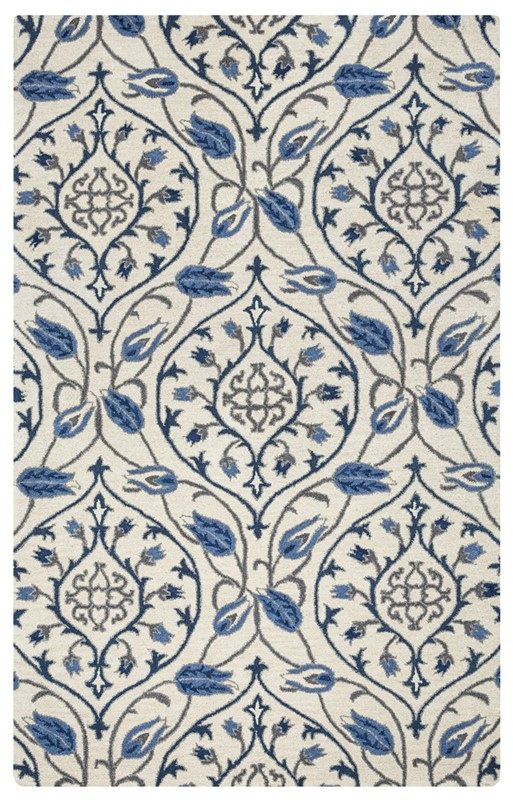 Rizzy Home  Valintino Transitional Ivory Rug Vn9522