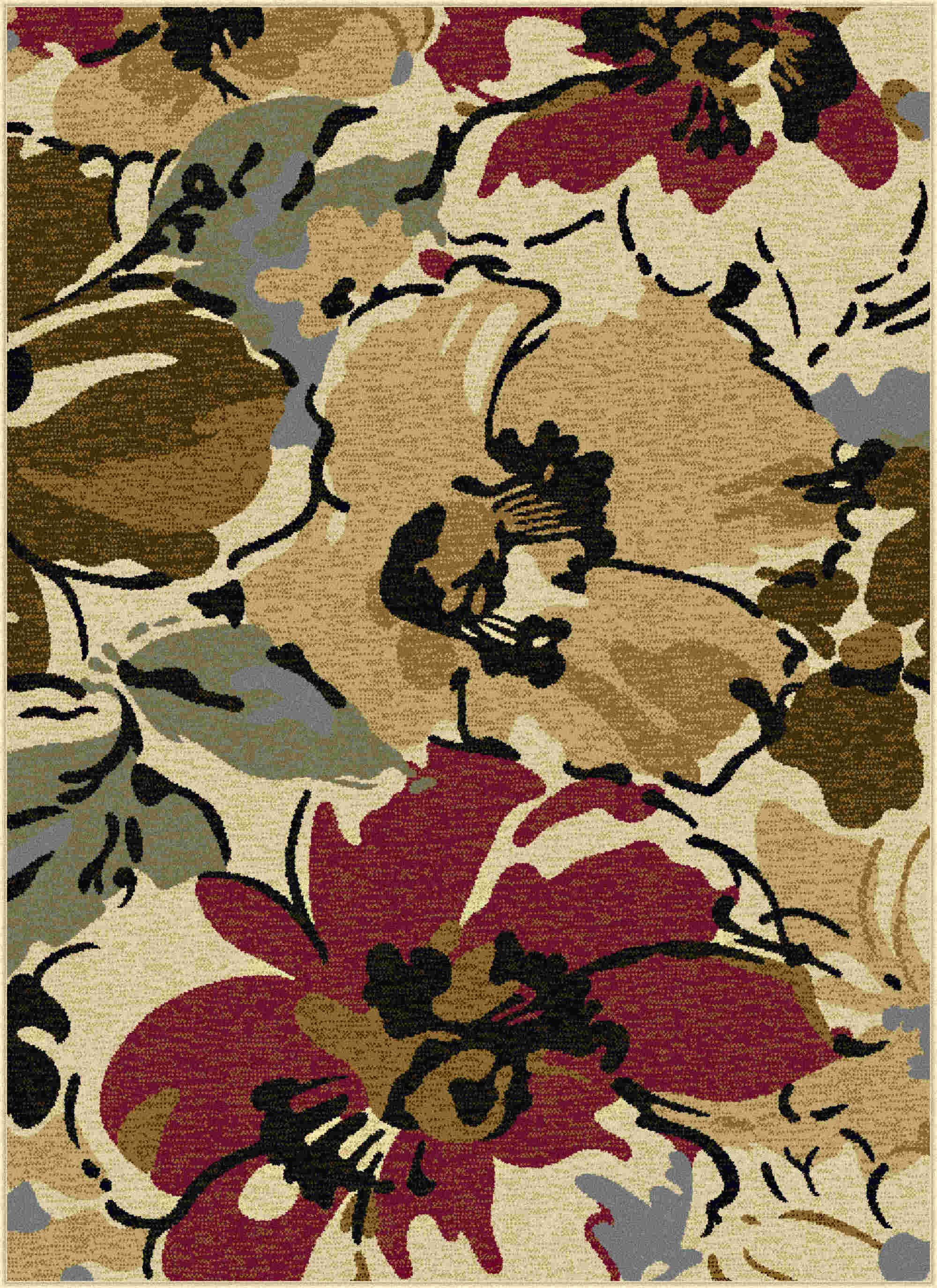 Laguna 4570 Beige Contemporary Area Rug