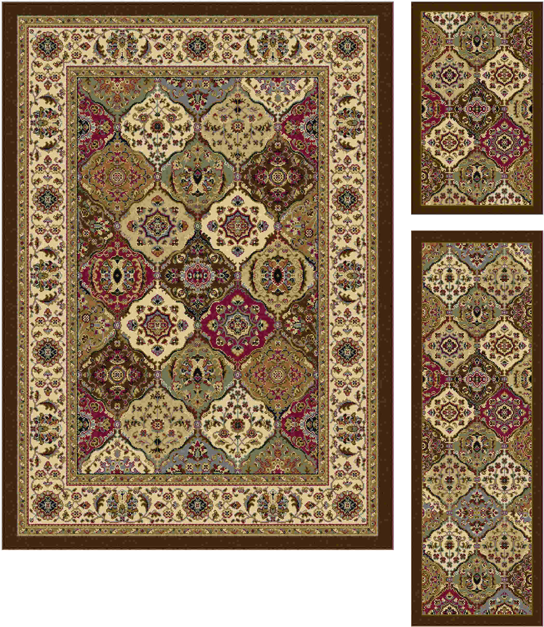 Laguna 4588 Multi Transitional Area Rug