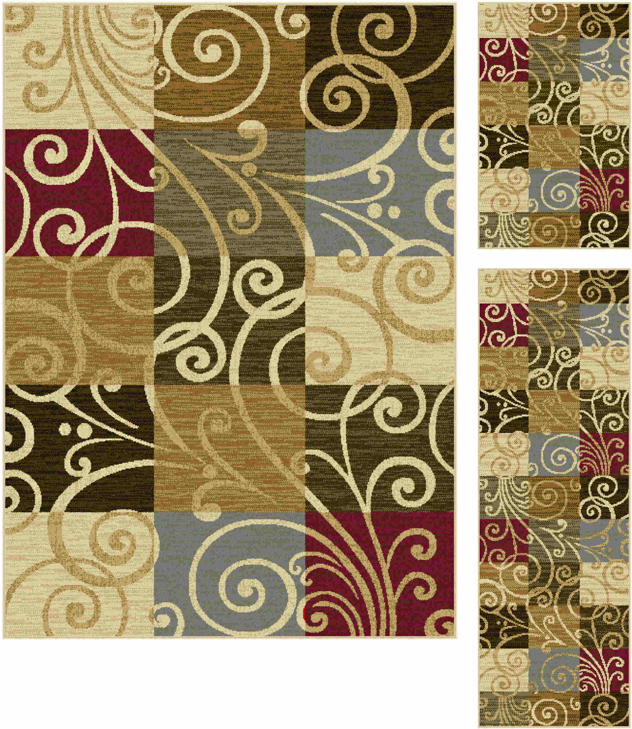 Laguna 4680 Multi Transitional Area Rug