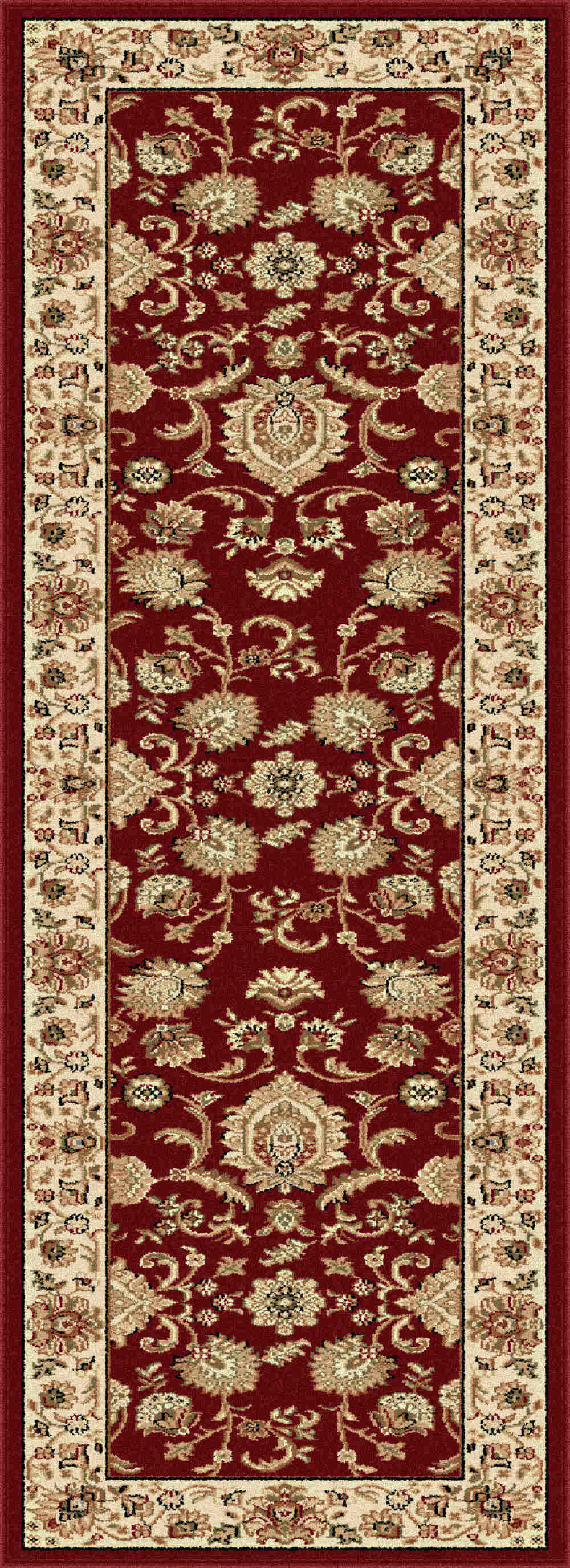 Sensation 4720 Red Traditional Area Rug