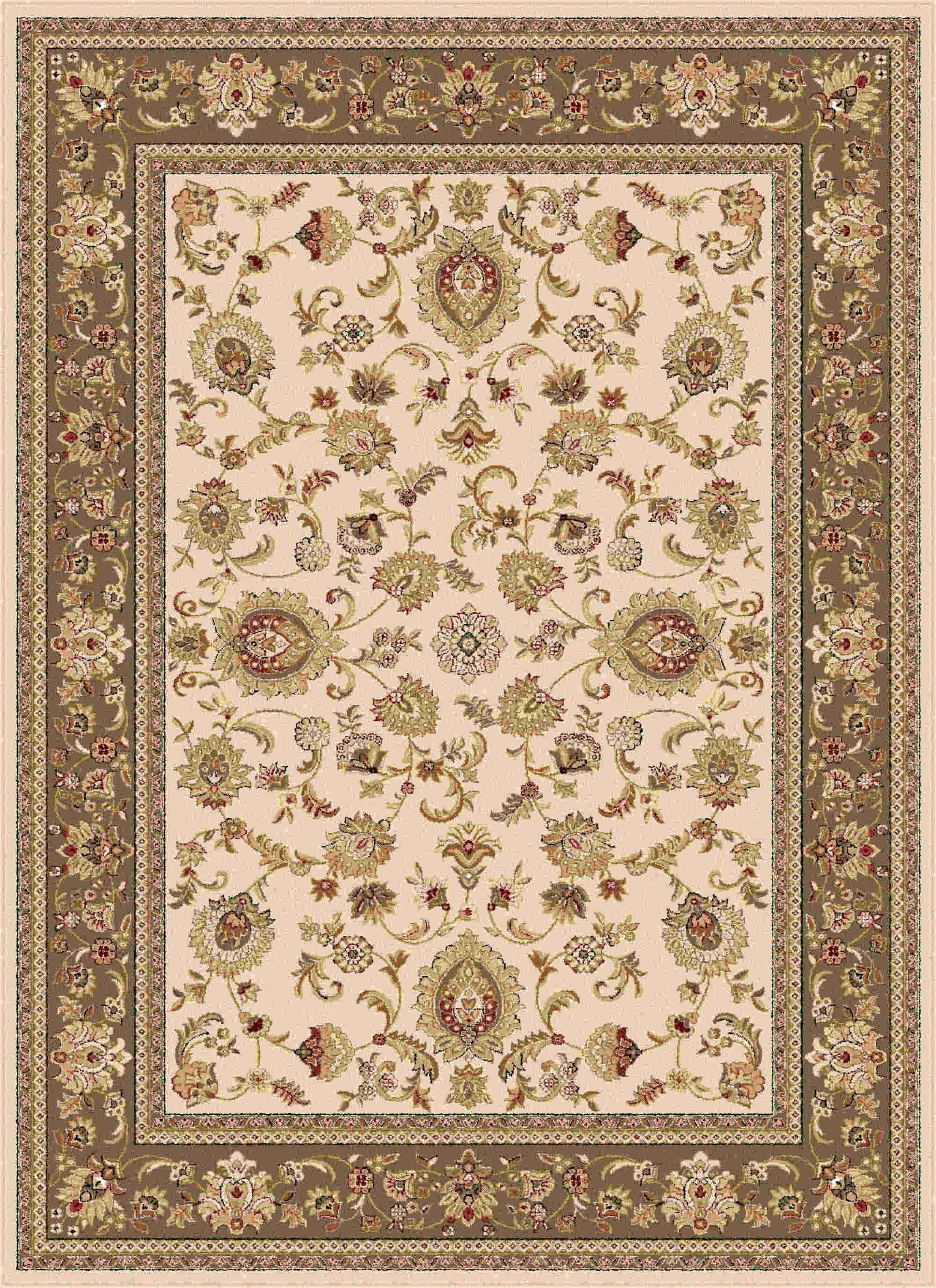 Sensation 4722 Beige Traditional Area Rug