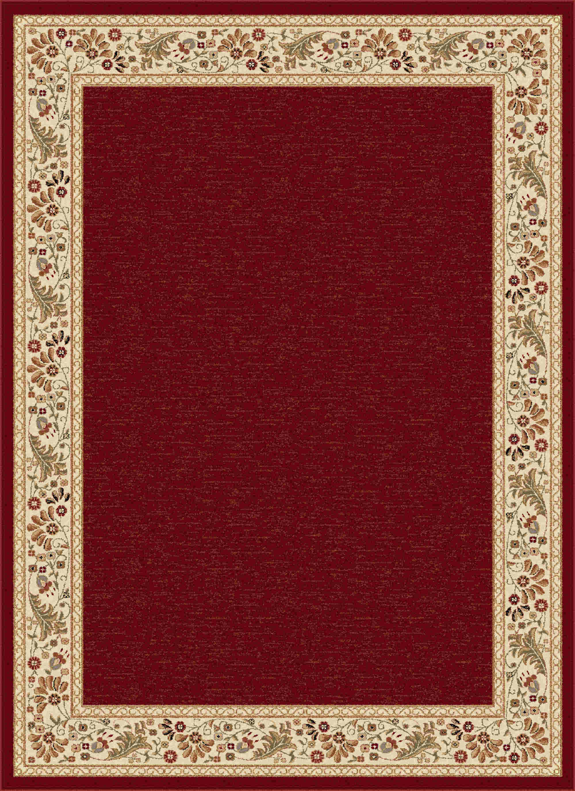 Sensation 4740 Red Transitional Area Rug