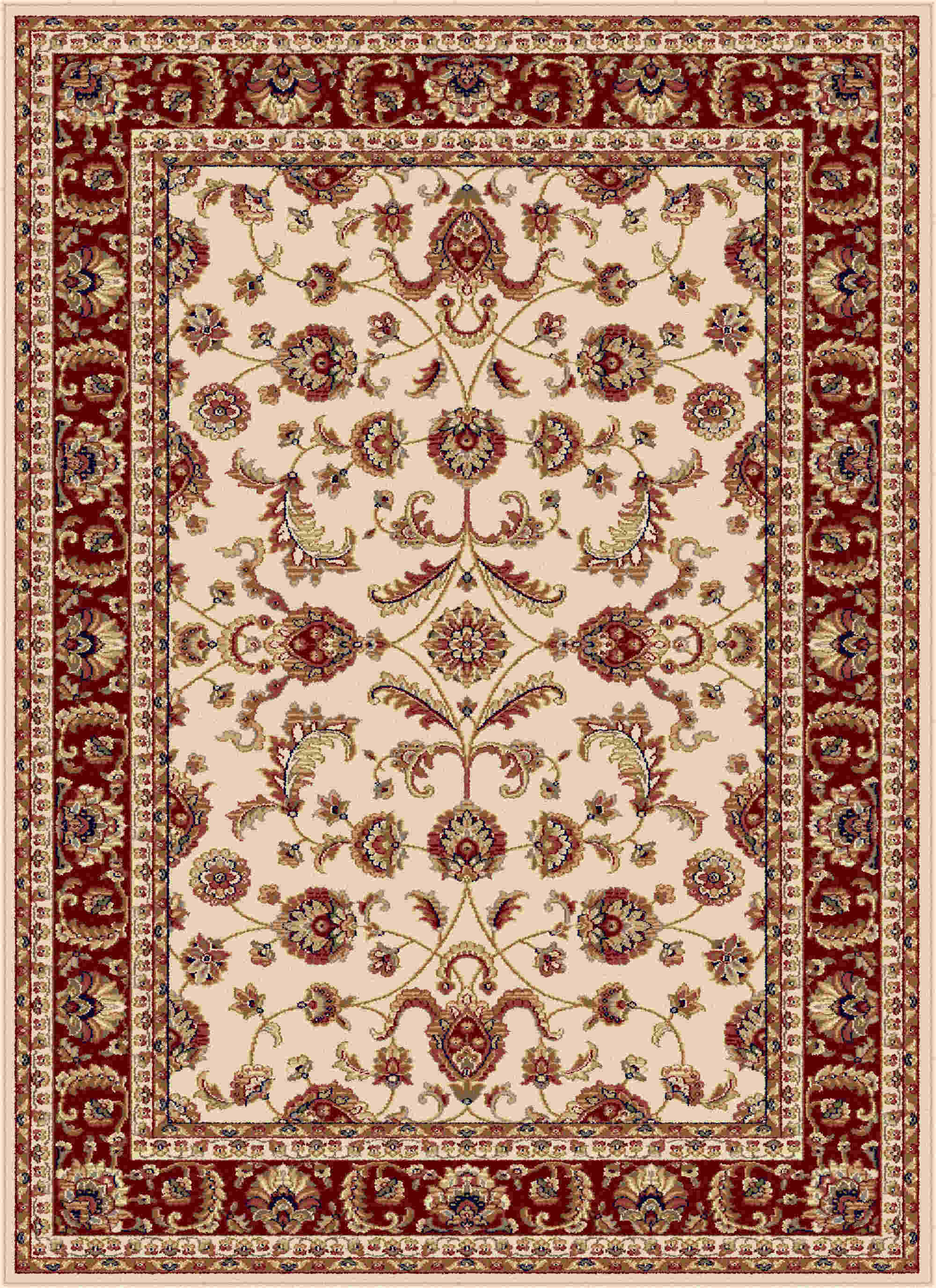 Sensation 4792 Beige Transitional Area Rug