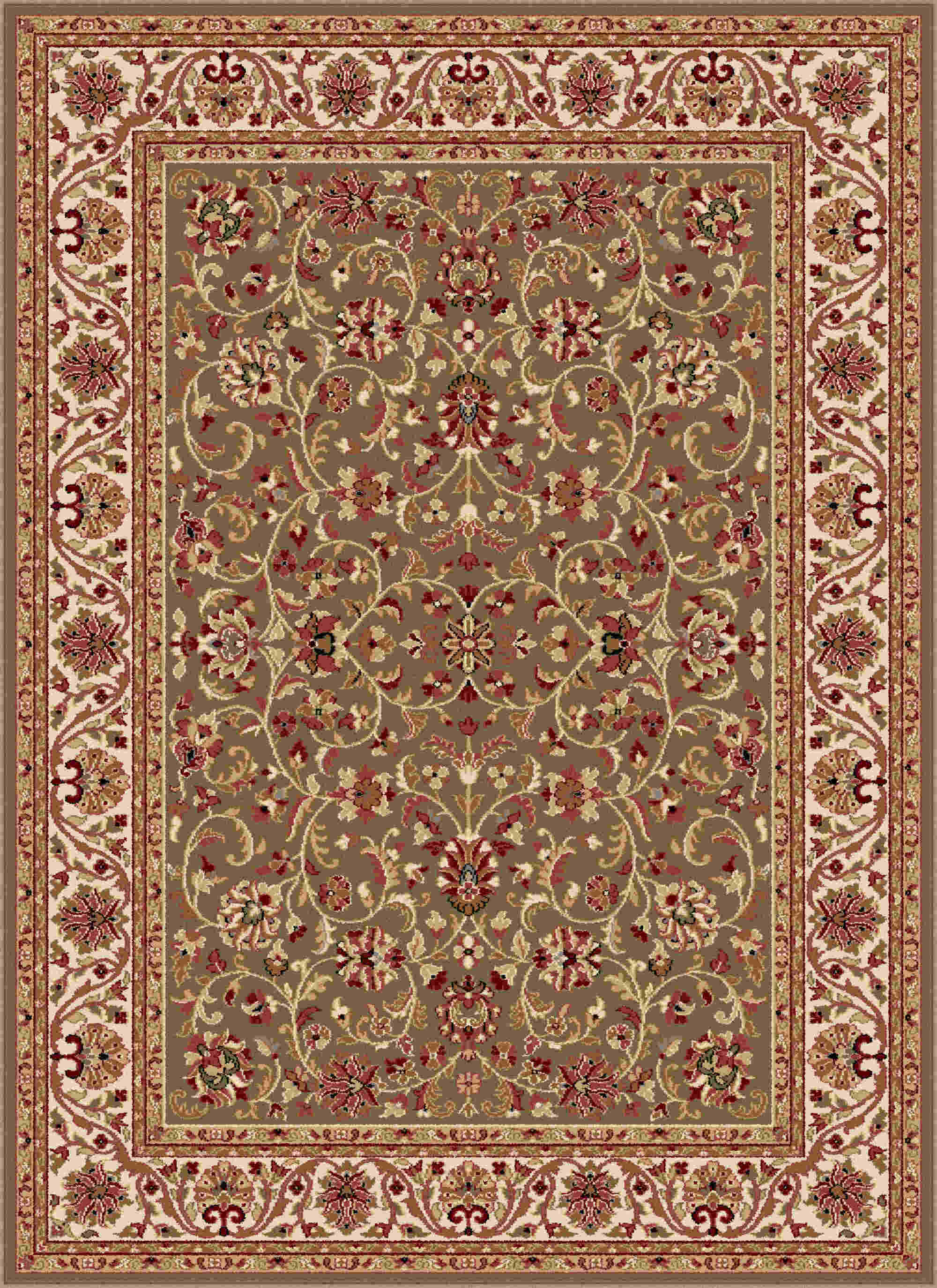 Sensation 4815 Green Transitional Area Rug