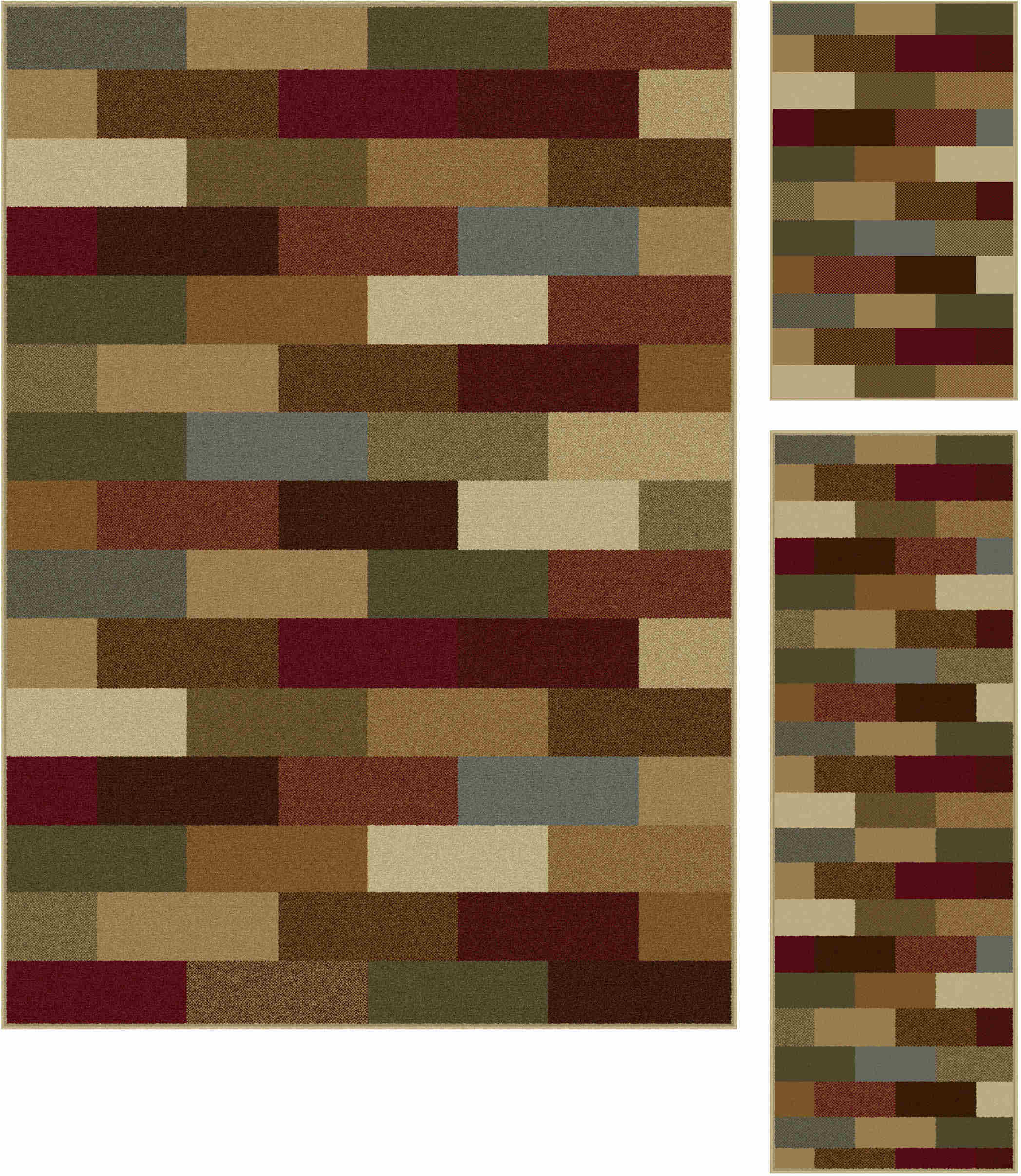 Elegance 5180 Multi Contemporary Area Rug