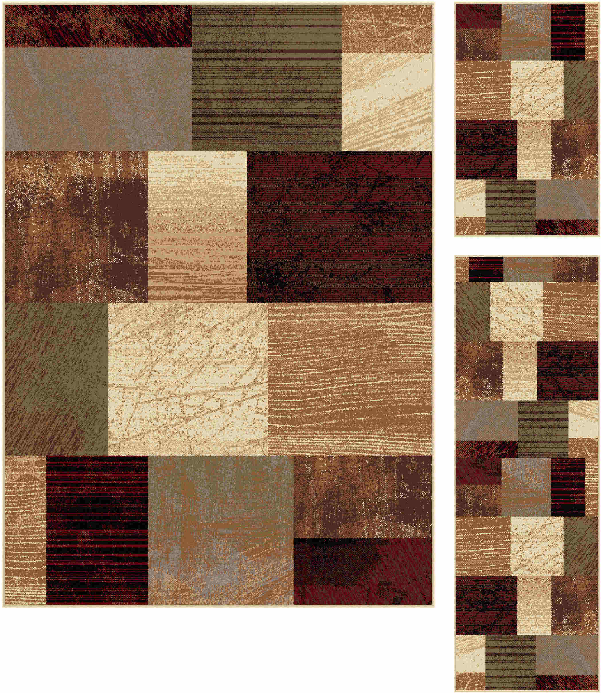 Elegance 5210 Multi Contemporary Area Rug