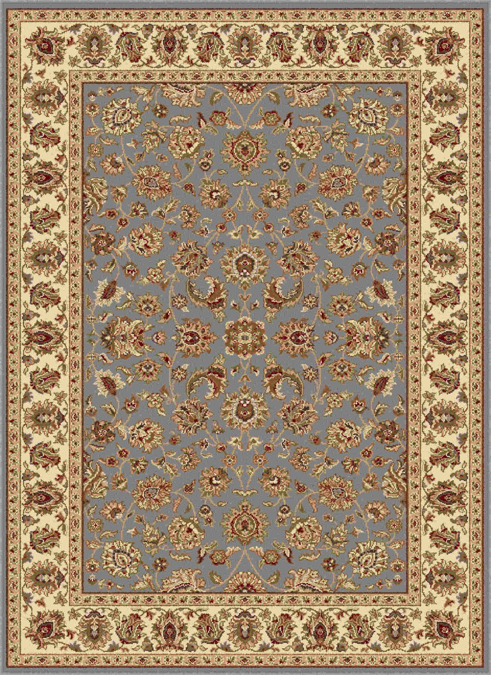 Elegance 5377 Blue Traditional Area Rug