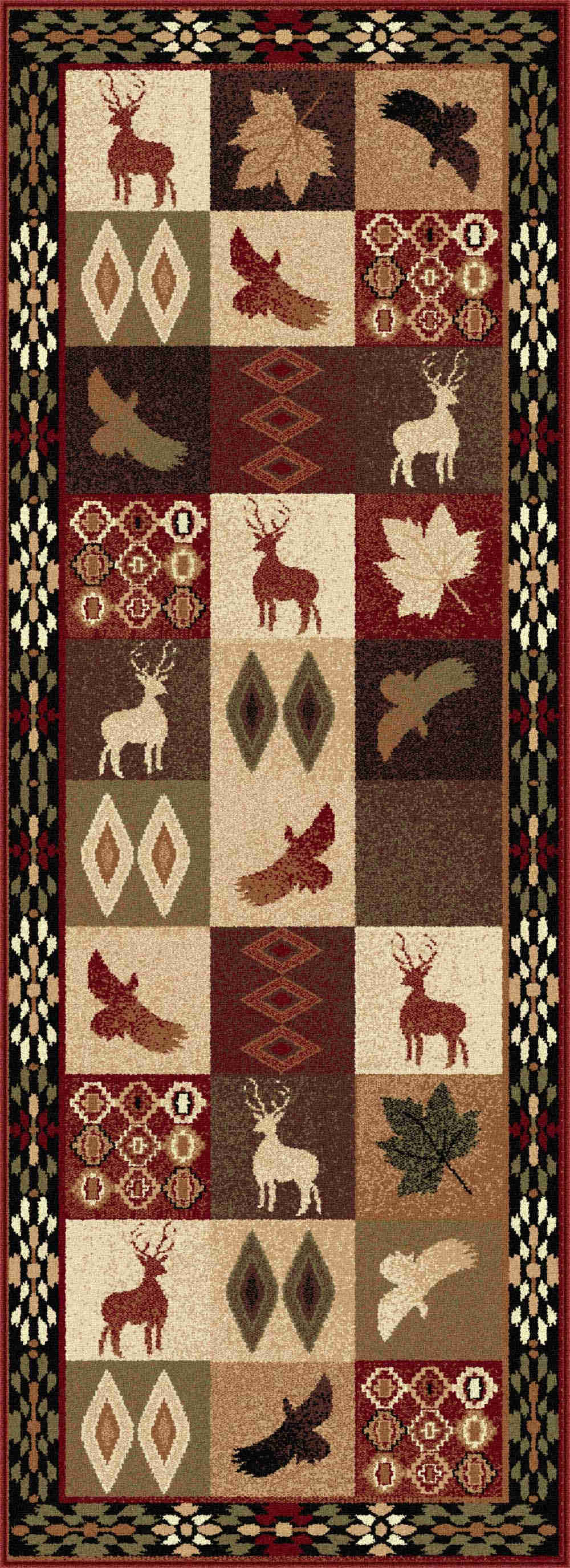 Nature 6590 Multi Indoor/outdoor Rugs Area Rug