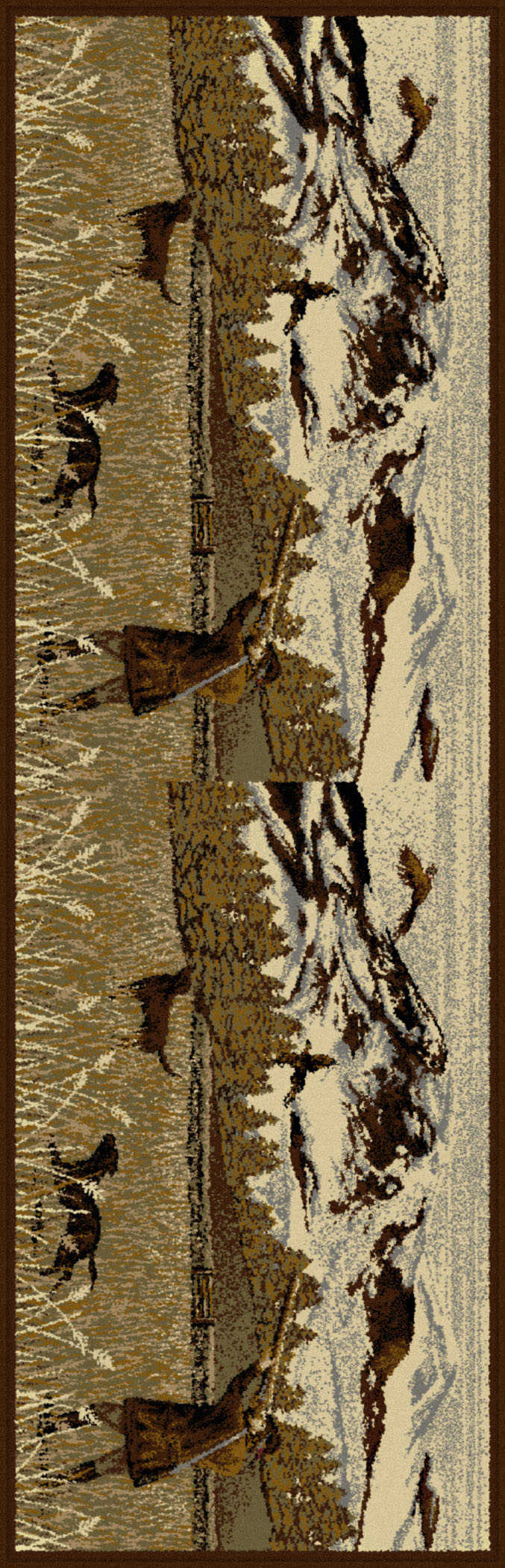 Nature 6720 Brown Indoor/outdoor Rugs Area Rug