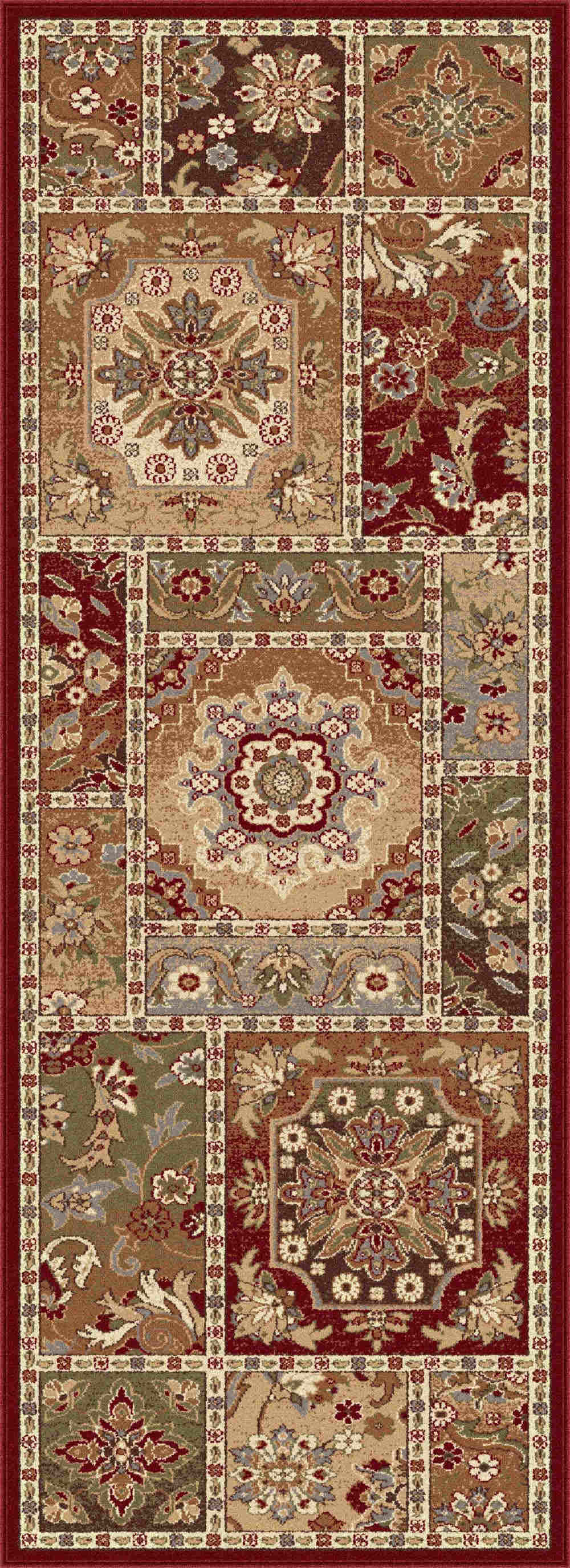 Impressions 7720 Multi Transitional Area Rug