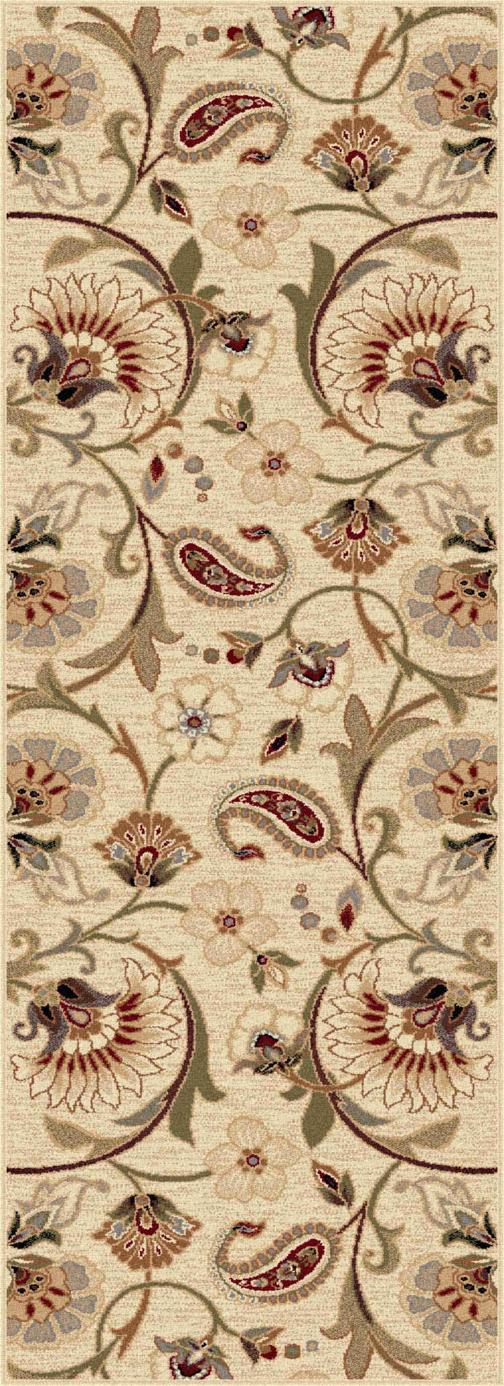 Impressions 7772 Beige Transitional Area Rug
