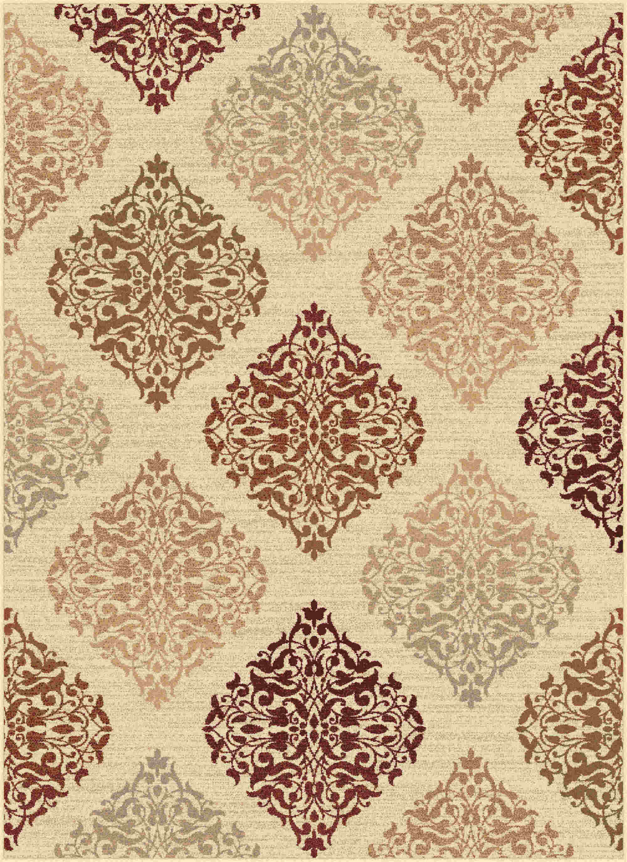 Impressions 7822 Beige Transitional Area Rug