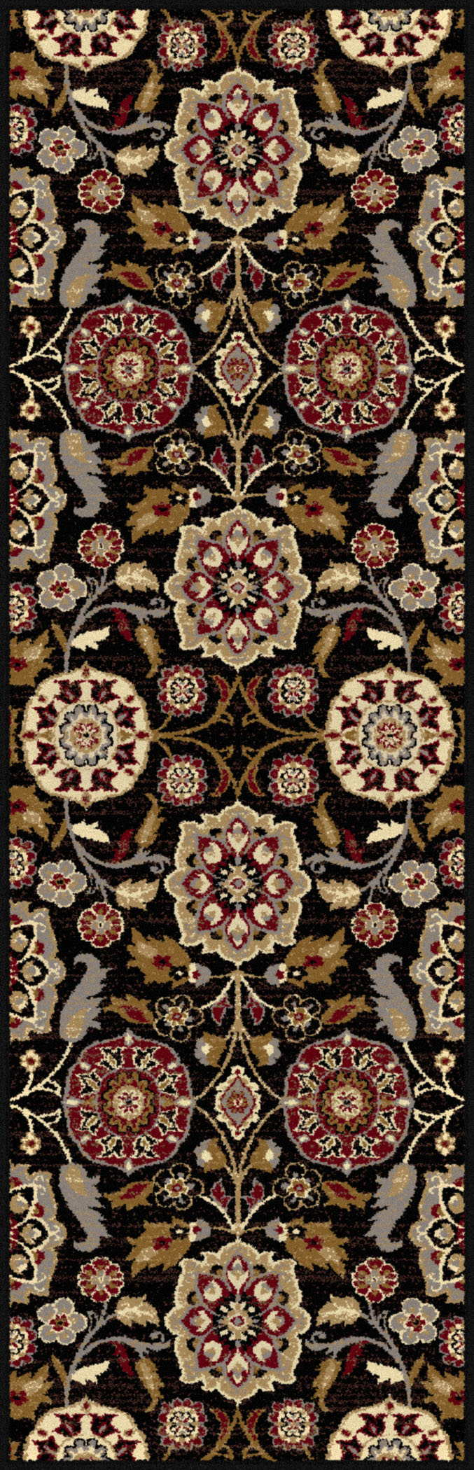 Impressions 7853 Black Transitional Area Rug