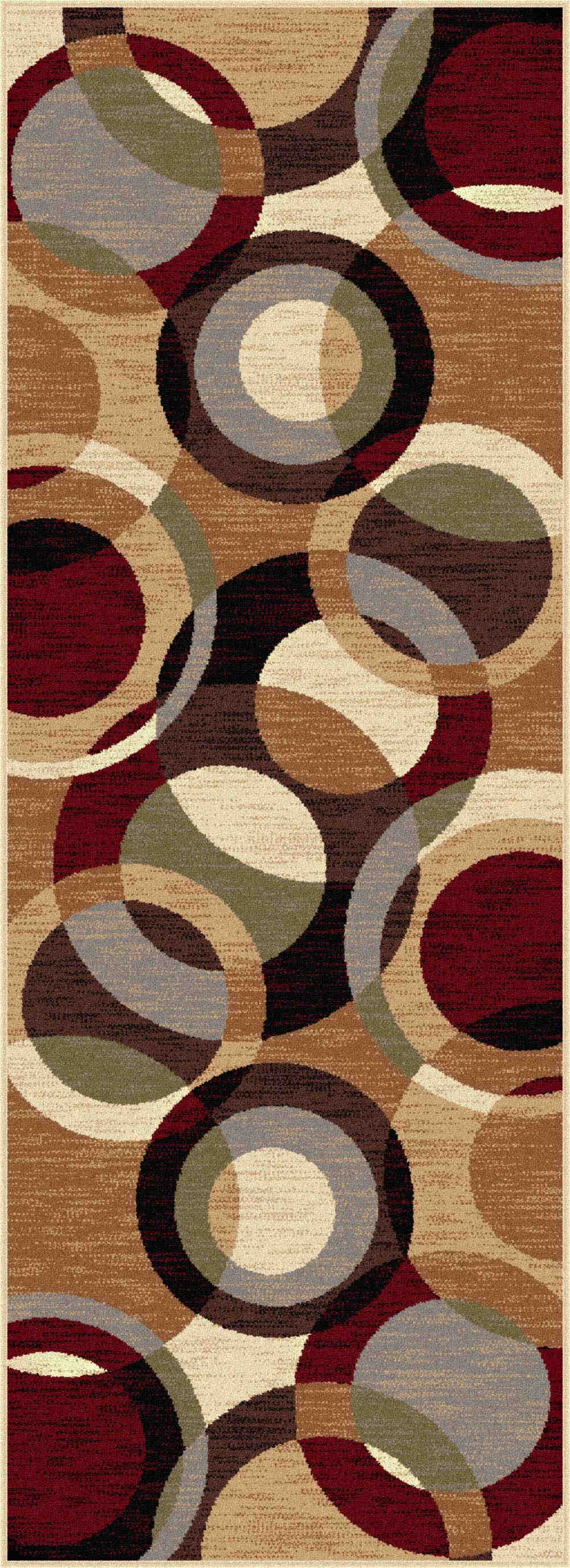 Festival 8740 Multi Contemporary Area Rug
