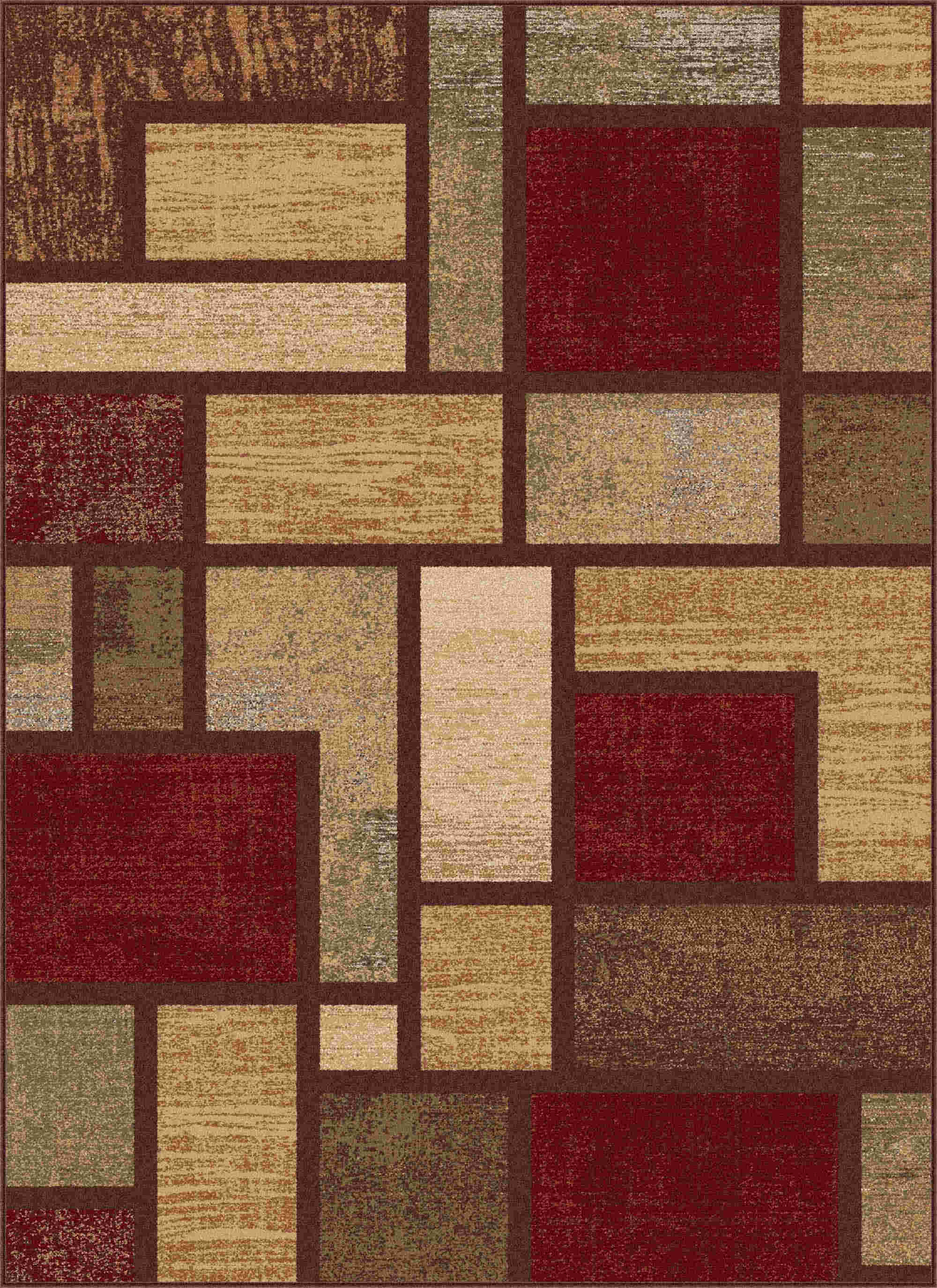 Festival 8830 Multi Contemporary Area Rug
