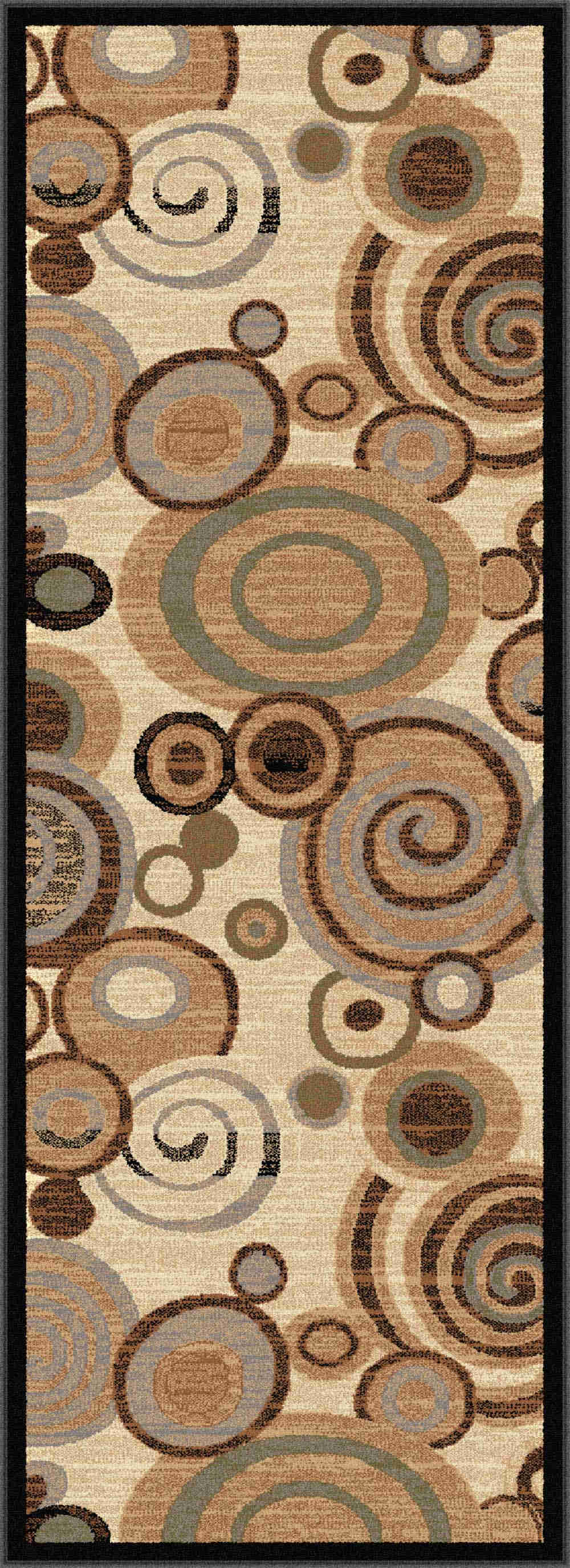 Festival 8832 Beige Contemporary Area Rug