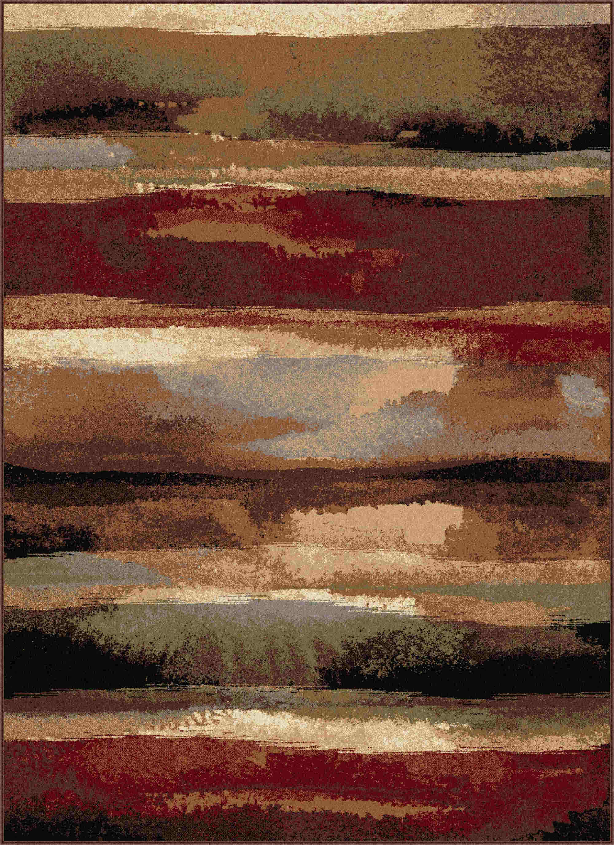 Festival 8900 Multi Contemporary Area Rug