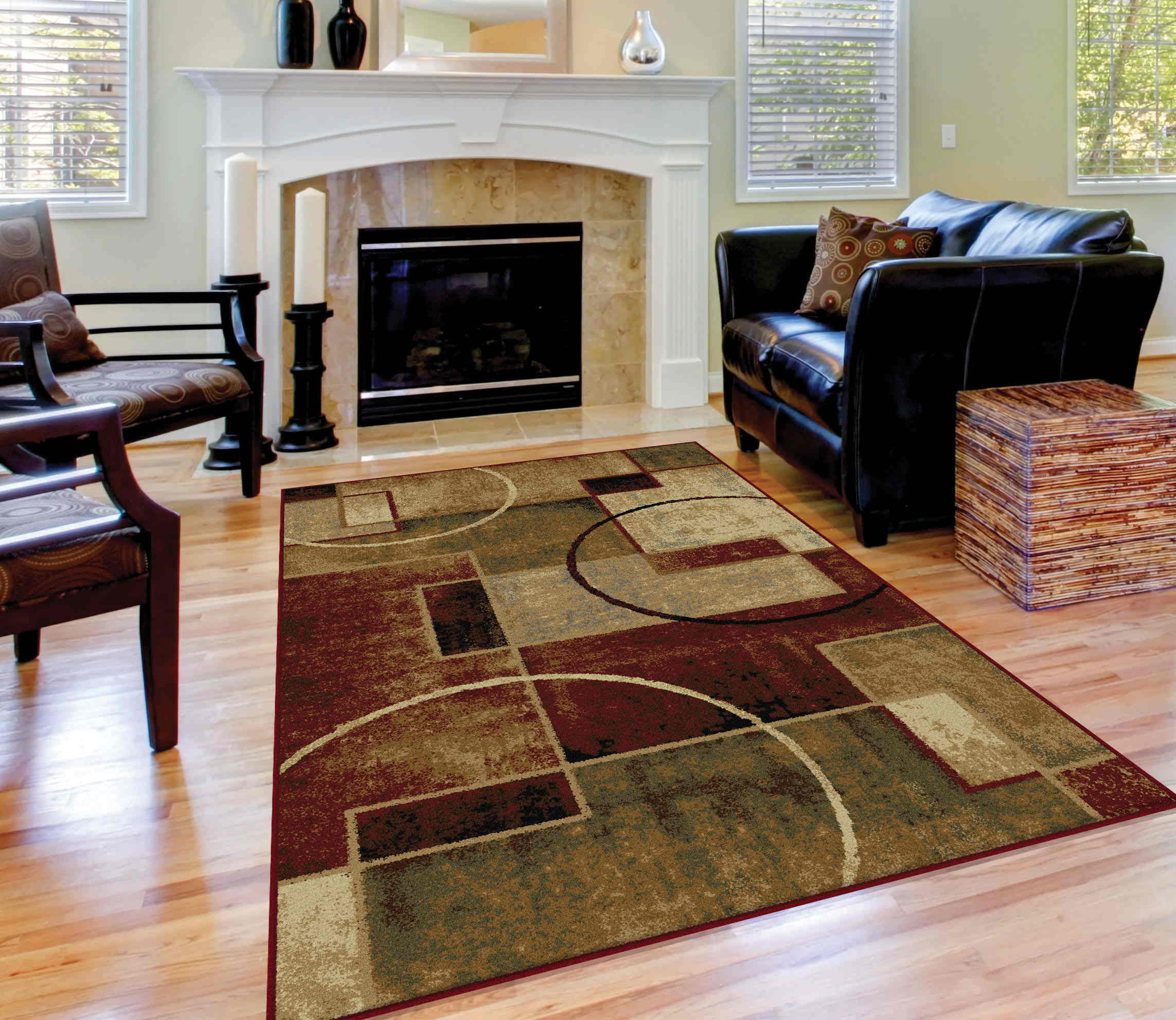 Festival 8970 Multi Contemporary Area Rug