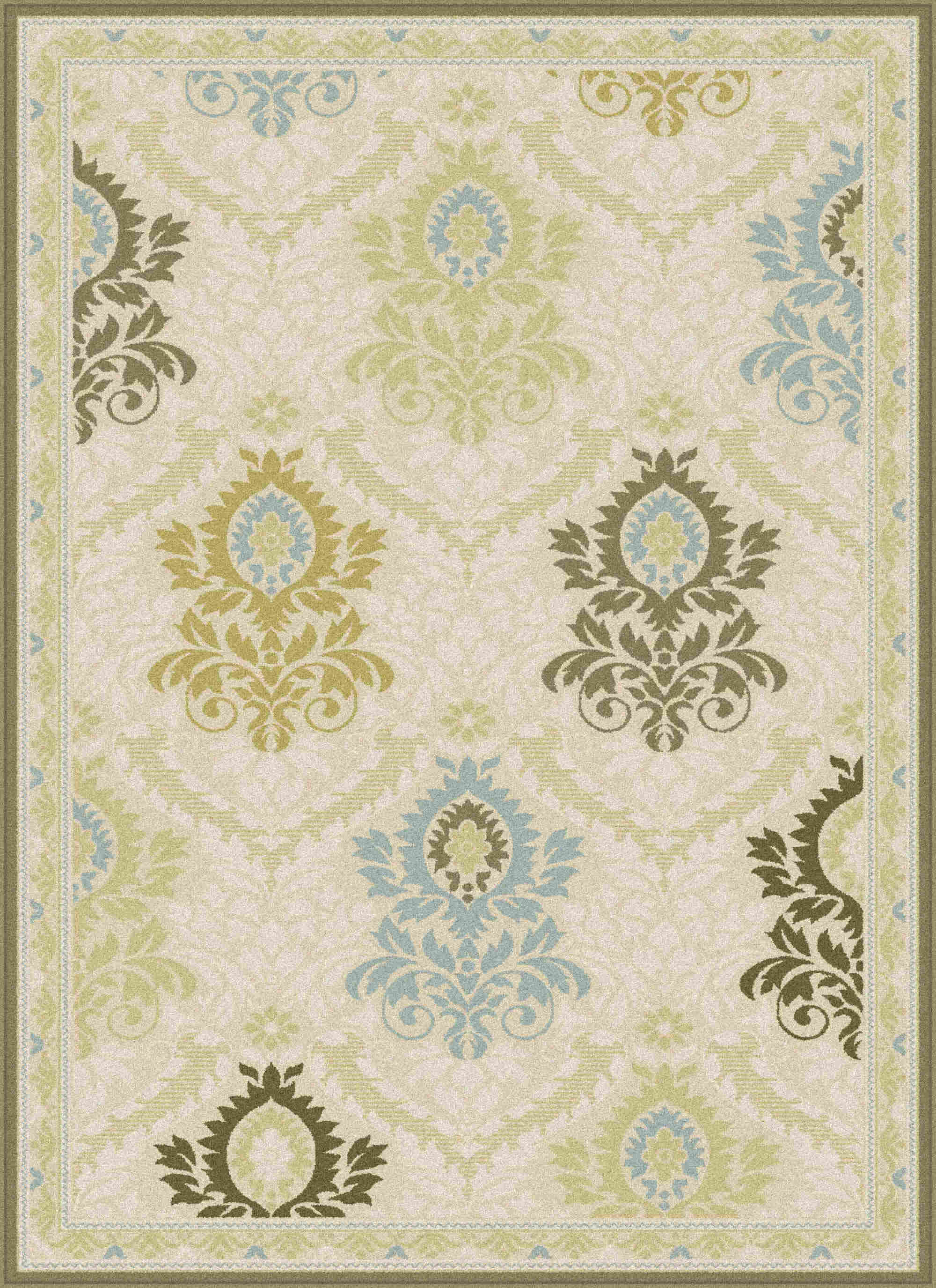 Cambridge Cbr1417 Cream Transitional Area Rug