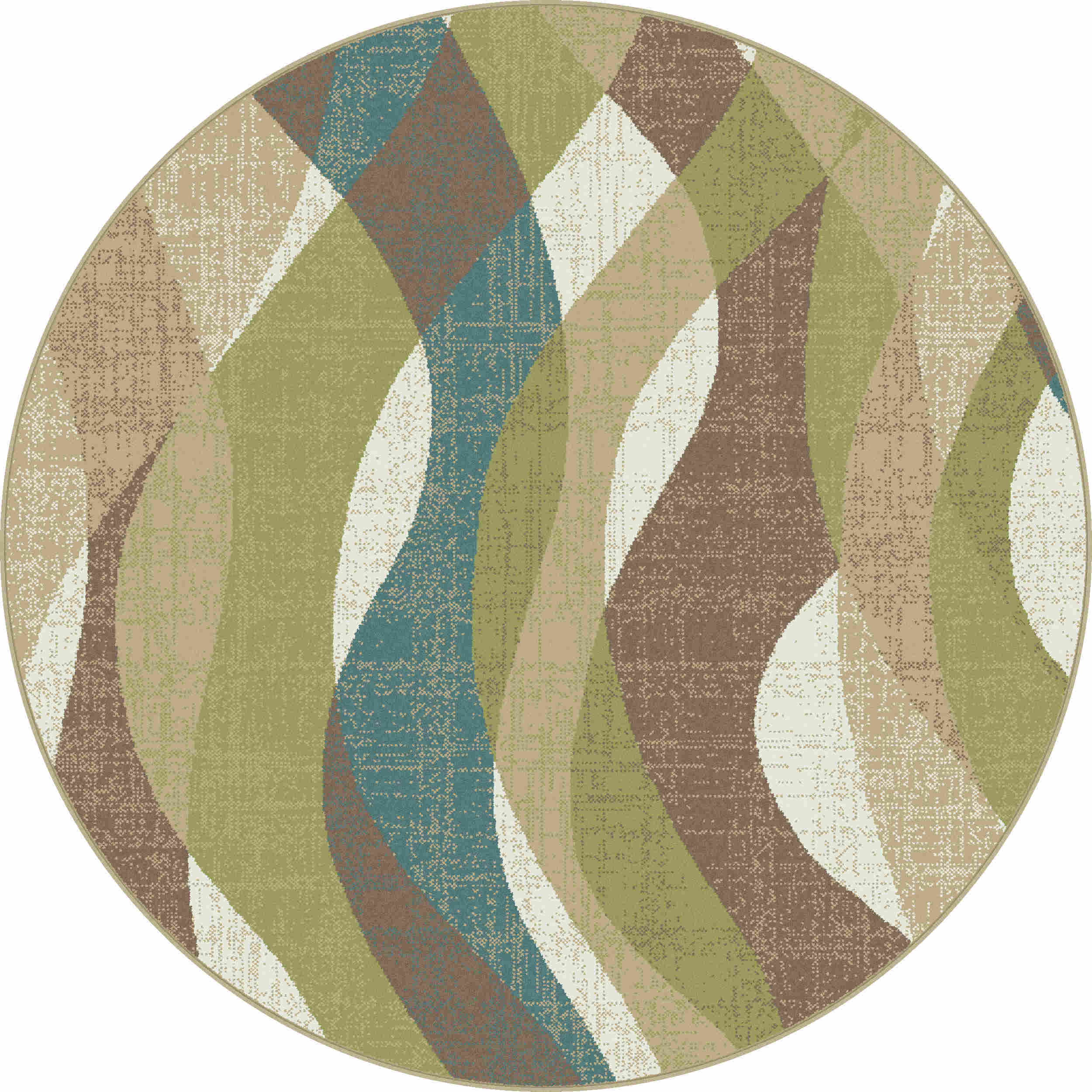 Deco Dco1012 Ivory Transitional Area Rug