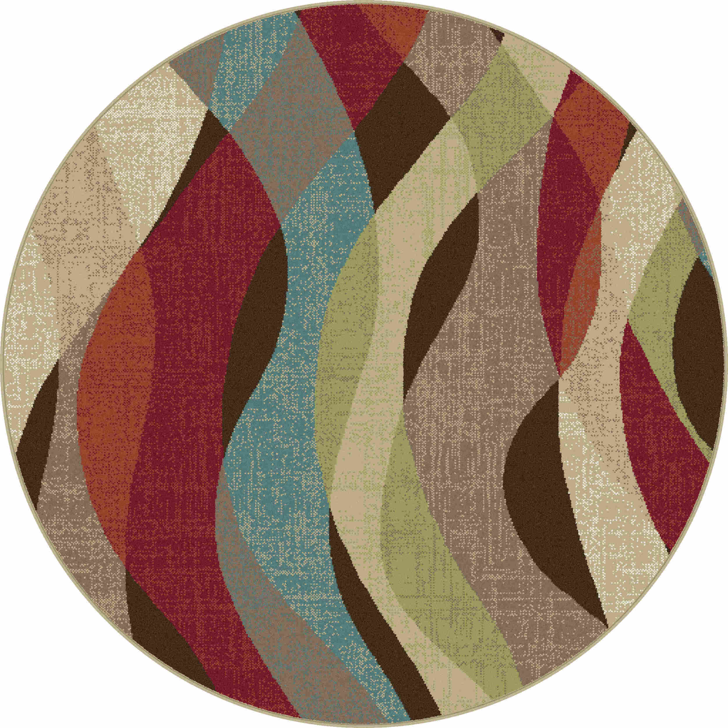 Deco Dco1013 Brown Transitional Area Rug