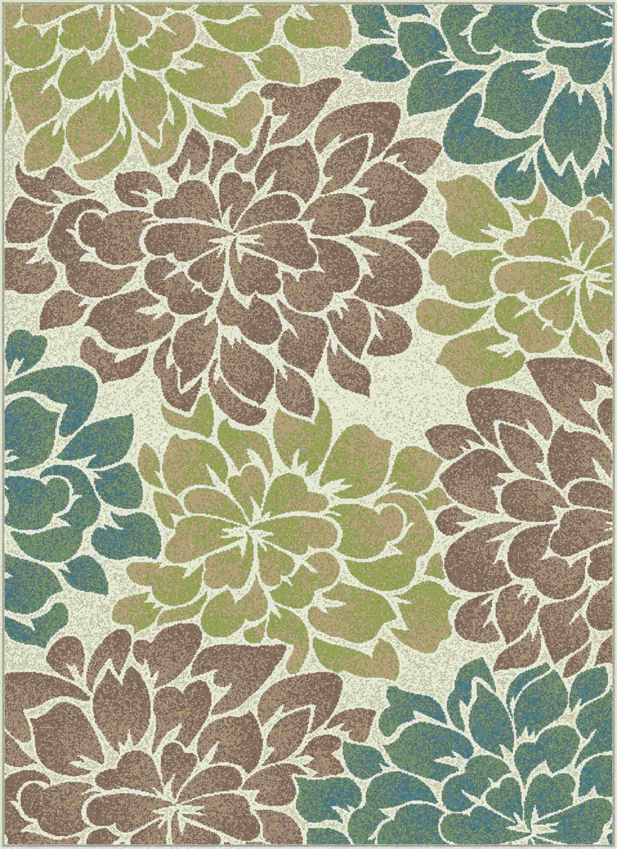 Deco Dco1020 Ivory Transitional Area Rug