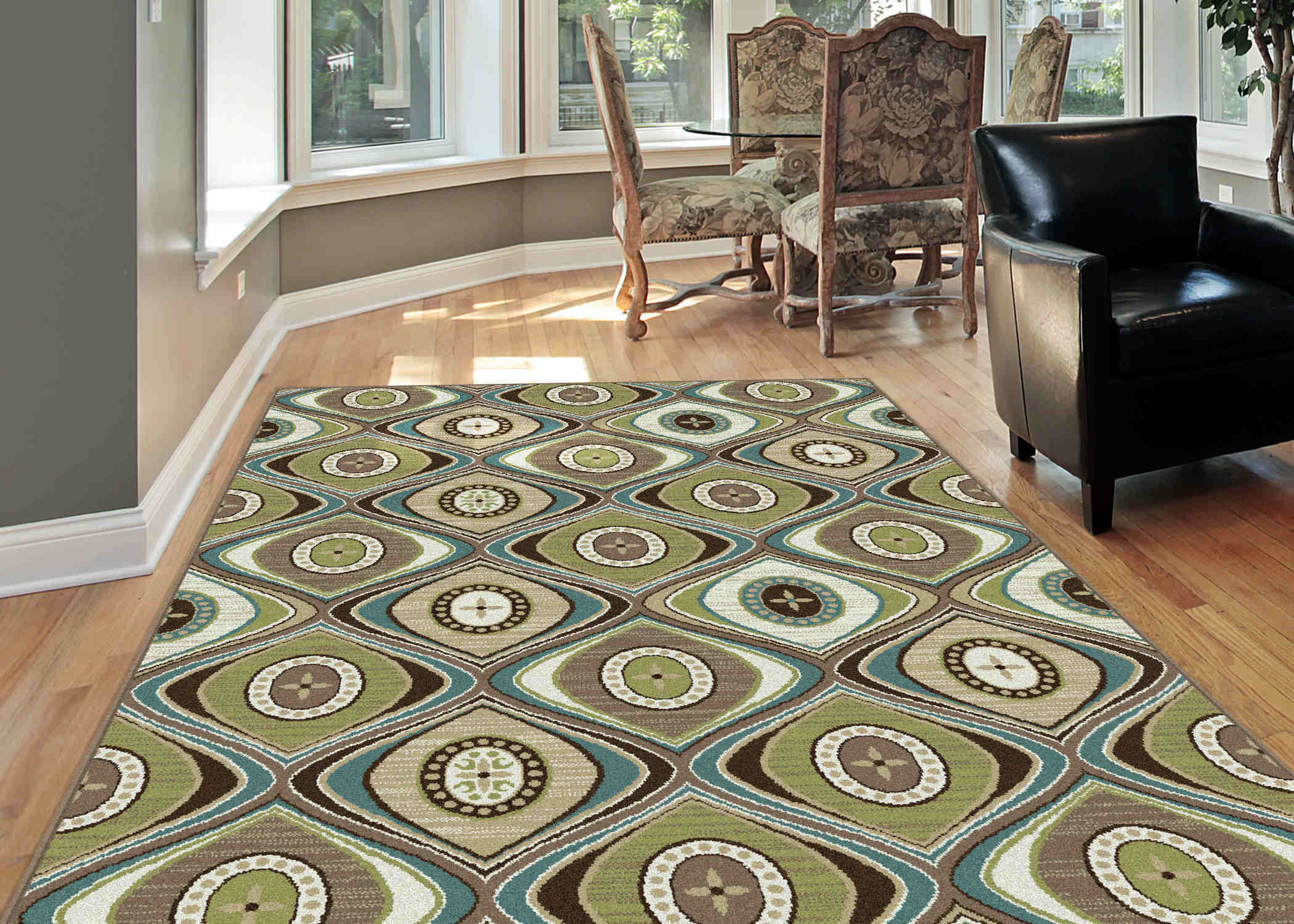 Deco Dco1028 Beige Transitional Area Rug