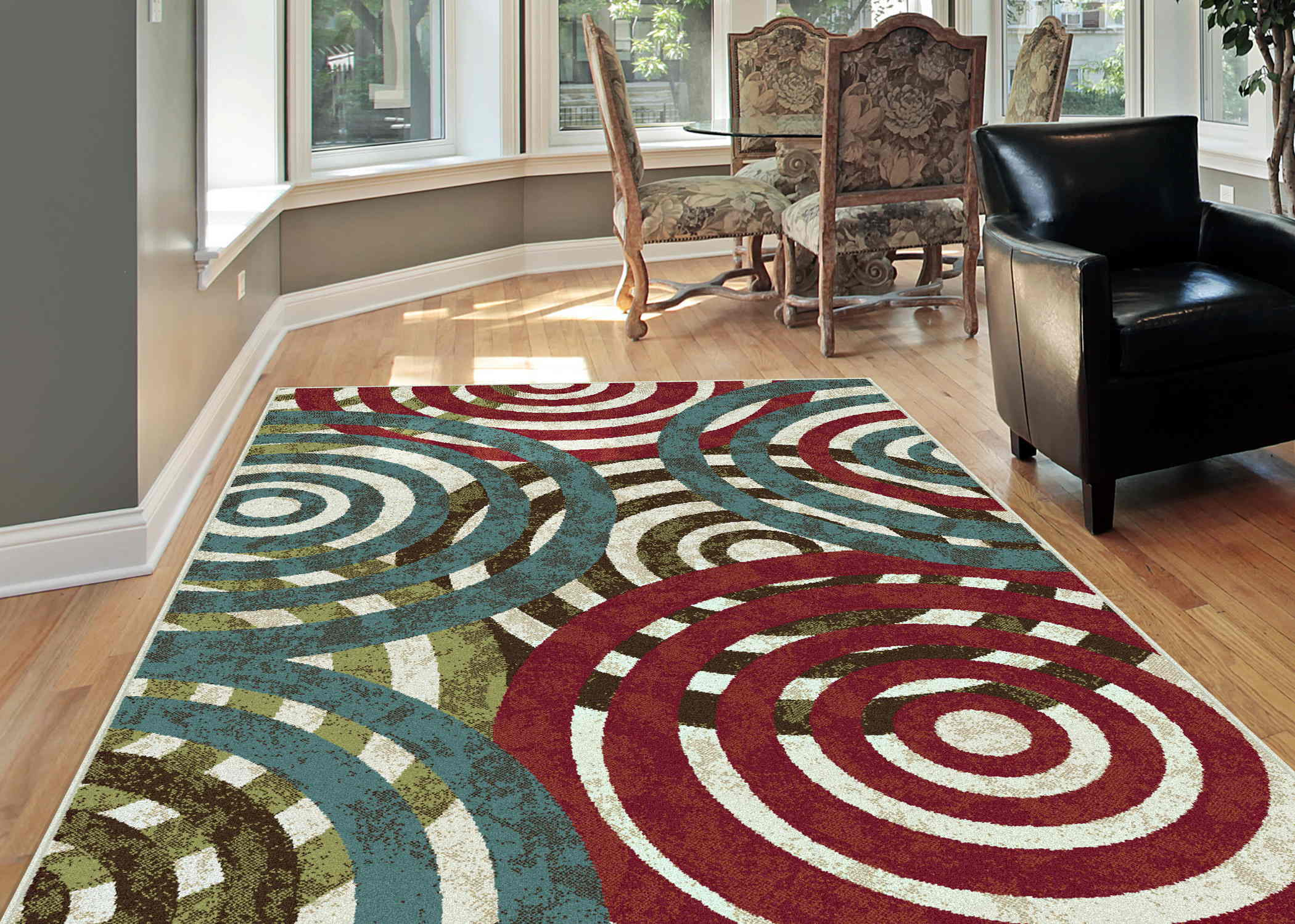 Deco Dco1030 Multi Contemporary Area Rug